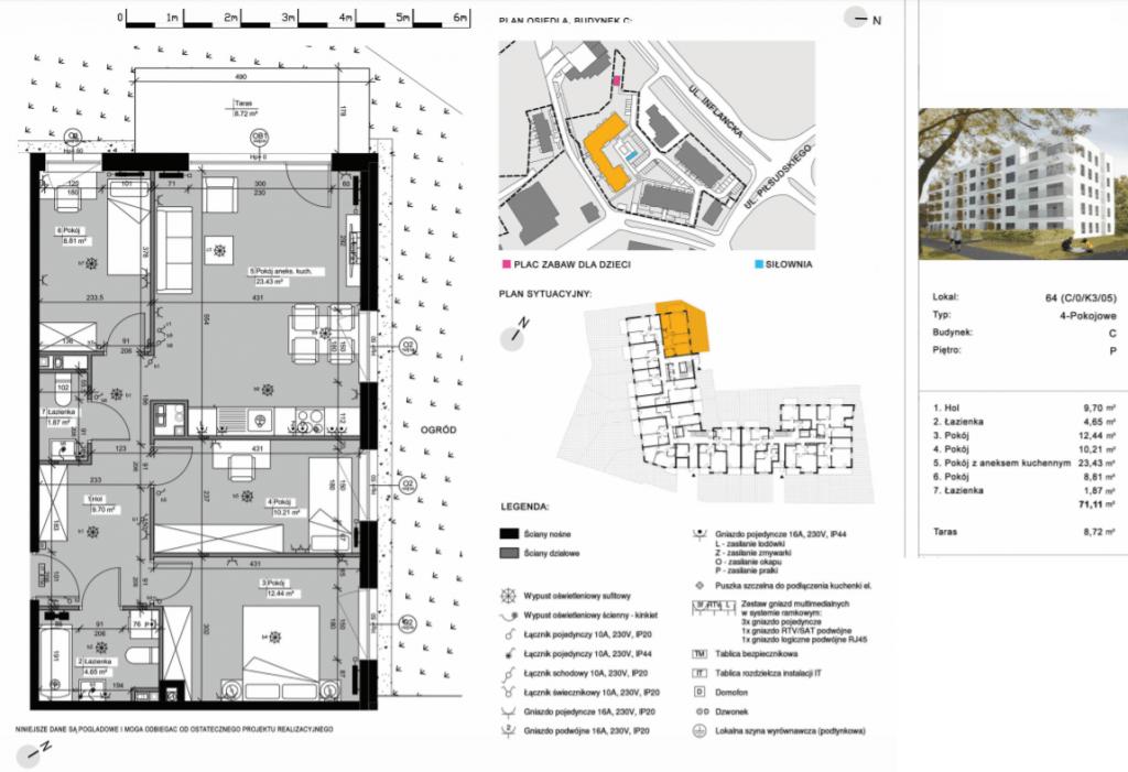C64 sprzedam mieszkanie 1024x701 - Inwestycja Nowe Żegrze - Poznań, Nowe Miasto, ul. Byteńska