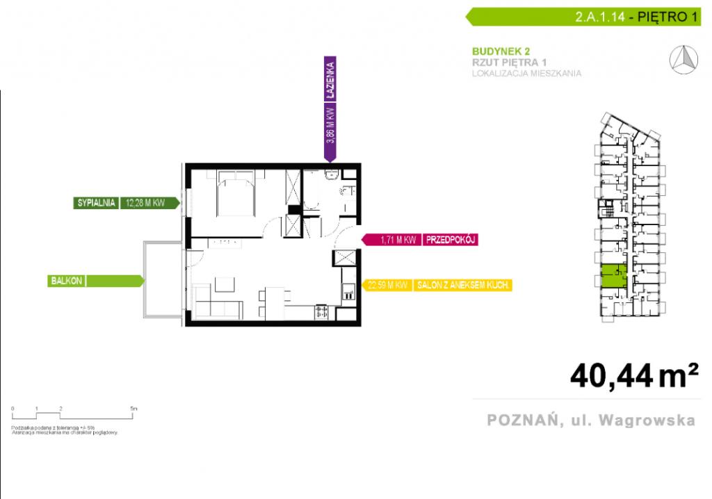 cztery pokoje w poznaniu 1024x718 - Inwestycja Nowe Miasto - Poznań, Nowe Miasto, ul. Wagrowska