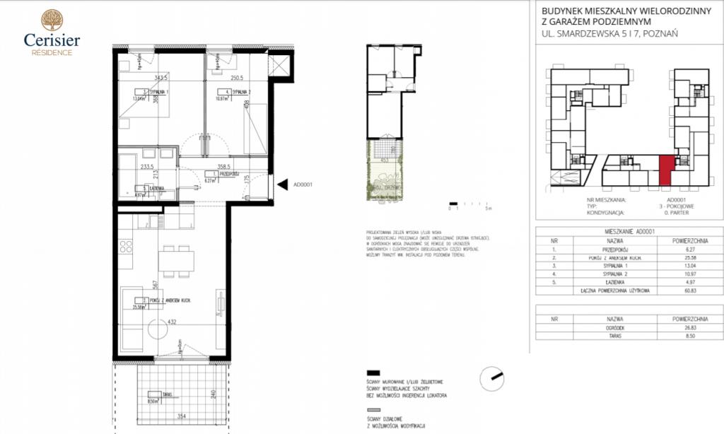 dom na sprzedaż AD0001 1024x614 - Inwestycja Cerisier Residence - Poznań, Grunwald, ul. Smardzewska