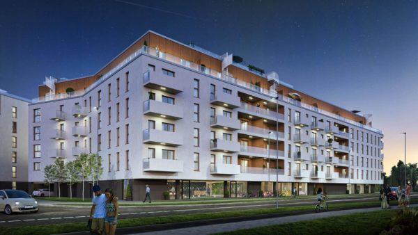 dom poznań 3 600x338 - Inwestycja Soleil de Malta - Poznań, Nowe Miasto, ul. Milczańska
