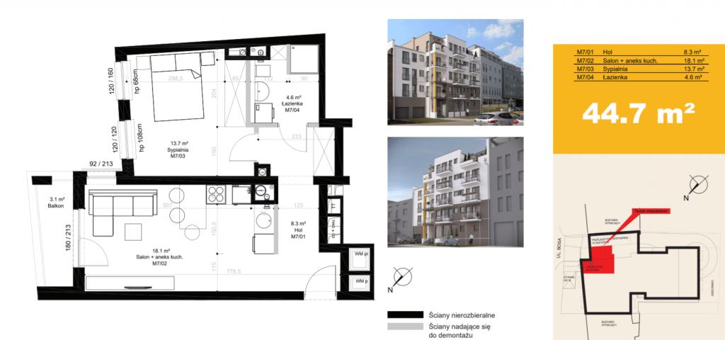 inwestycja w nieruchomości M7 1024x480 - Inwestycja Bosa 7 - Poznań, Górczyn, ul. Bosa