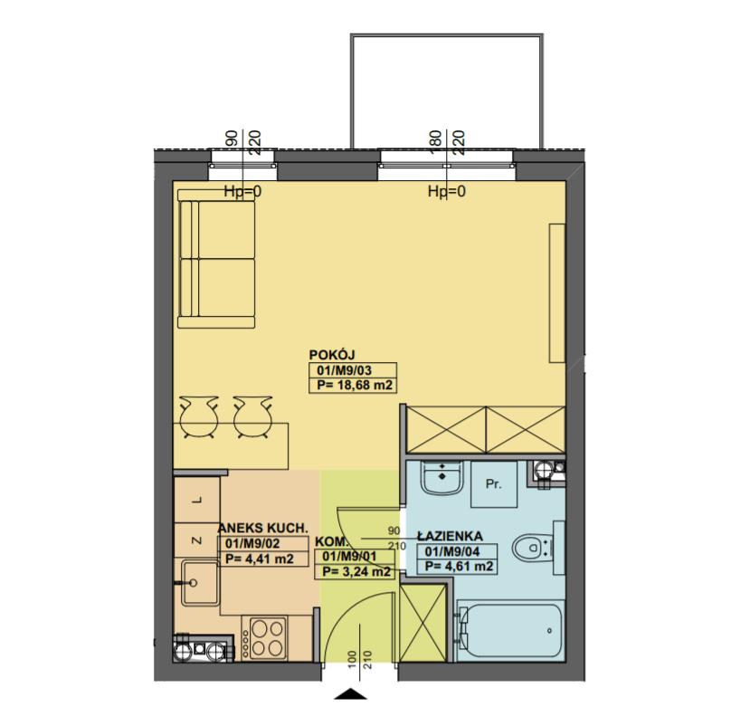 kupię mieszkanie w poznaniu KD.M9 - Inwestycja Dmowskiego 107 - Poznań, Łazarz, ul. Dmowskiego