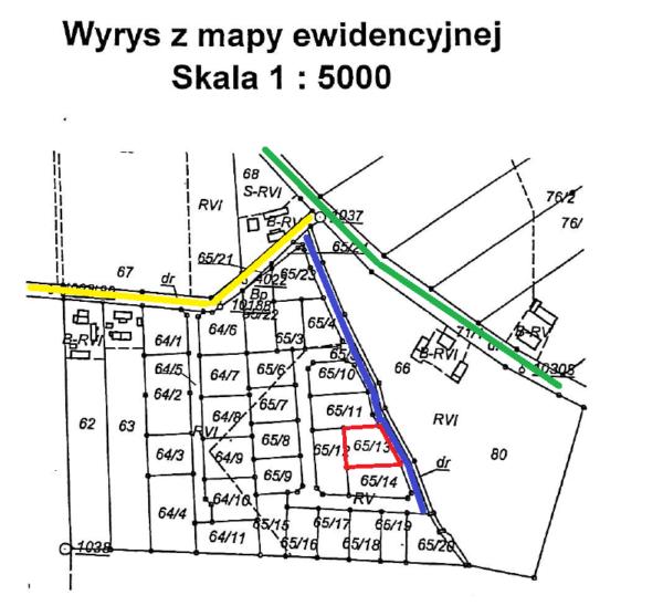 mapka sytuacyjna 600x557 - Działka - Środa Wielkopolska