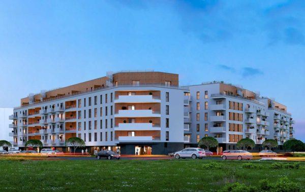 mieszkanie poznań 4 600x379 - Inwestycja Soleil de Malta - Poznań, Nowe Miasto, ul. Milczańska