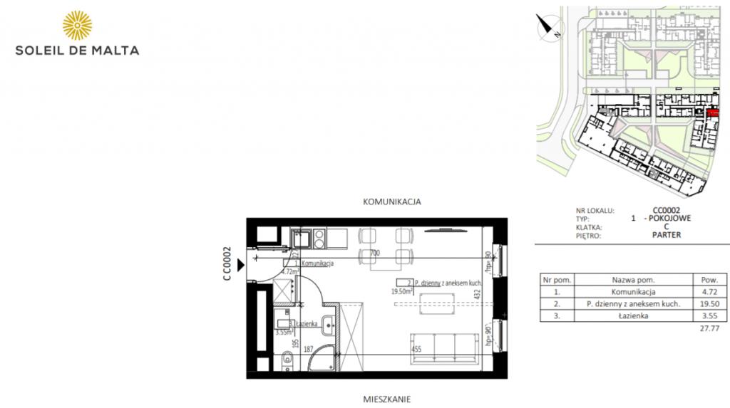 mieszkanie z ogródkiem poznań 1024x573 - Inwestycja Soleil de Malta - Poznań, Nowe Miasto, ul. Milczańska