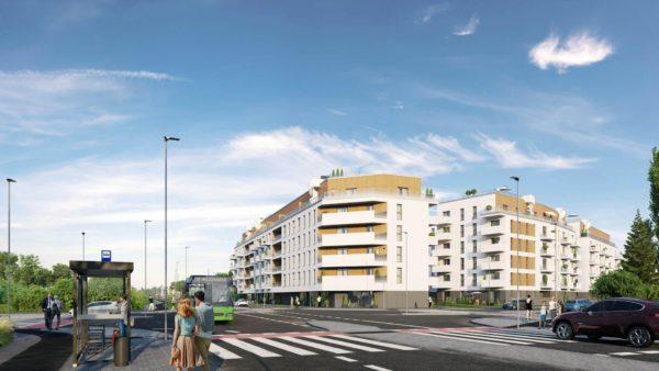 sprzedam dom 2 600x338 - Inwestycja Soleil de Malta - Poznań, Nowe Miasto, ul. Milczańska