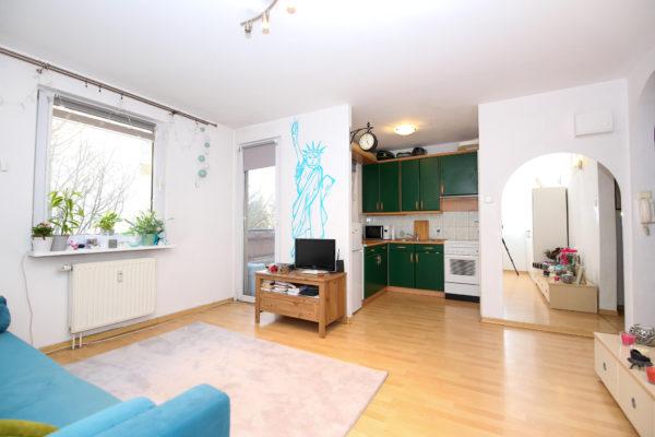 sprzedam kawalerkę poznań naramowice 600x400 - 1 pokój, 1 piętro - Poznań, ul. Naramowicka
